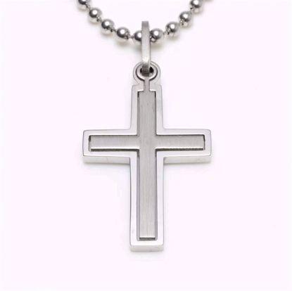 3795-stål-herrevedhæng-herrehalskæde-kors