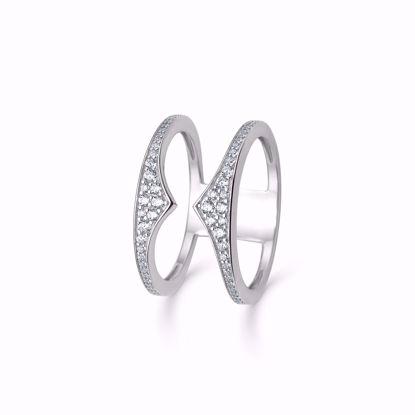 1877/2-sølvring-dobbelt-ring