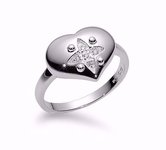 1657/2-sølvring-hjerte