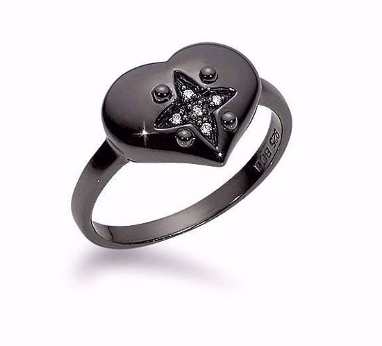 1657/2/B-sølvring-sort-rhodineret