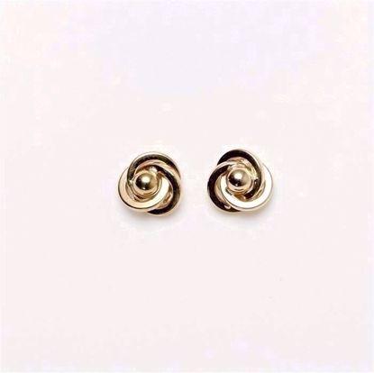 5233/14-guld-knude-ørering