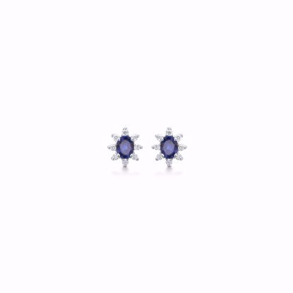8320/5/14-hvidguld-ørestik-roset-diamant-safir