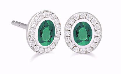 005005-guld-ørestik-ørering-smaragd-brillanter