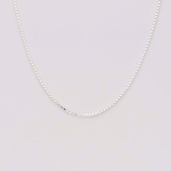 Venezia 1 mm kæde i sølv
