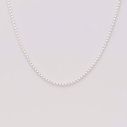 Venezia 1,3mm sølv kæde