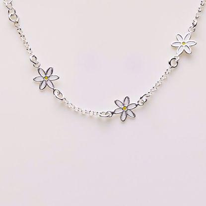 8882-sølv-børne-armbånd-med-blomster