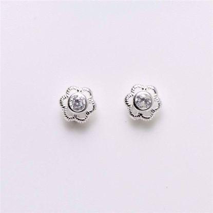 11042-sølv-børne-øreringe-blomst