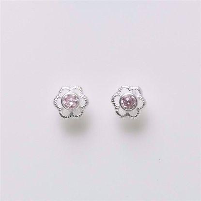 11043-sølv-børne-øreringe-blomst