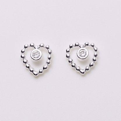 1553/1-sølv-børne-øreringe-hjerte