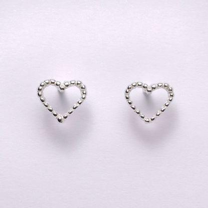 11195-sølv-børne-øreringe-hjerte