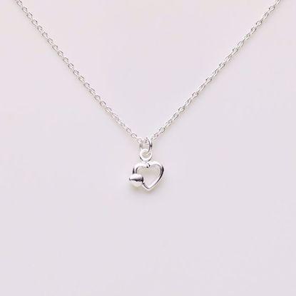 1820/3-sølv-børne-halskæde-hjerte