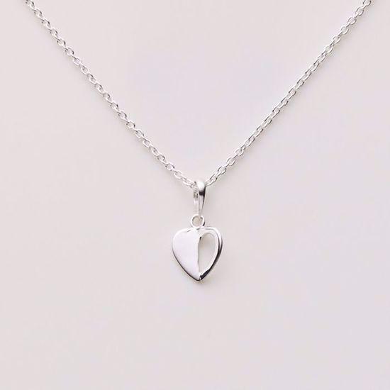 1821/3-sølv-børne-halskæde-hjerte
