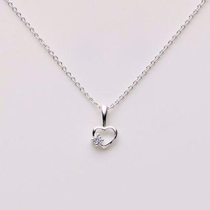 1822/3-sølv-børne-halskæde-hjerte