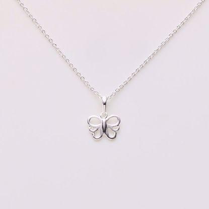 1823/3-sølv-børne-halskæde-sommerfugl