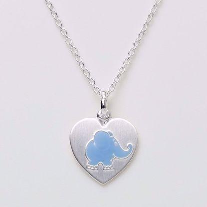 3996-sølv-halskæde-lyseblå-elefant