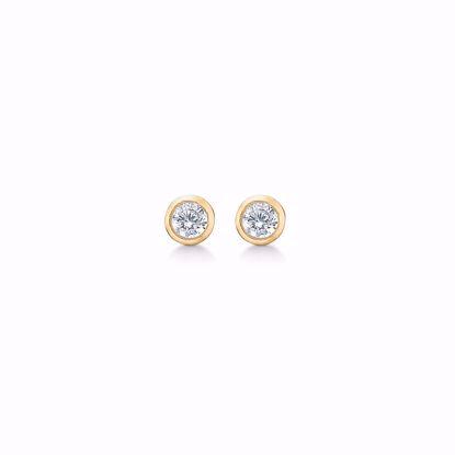 5549/08-guld-zirkonia-ørestikker-øreringe-rørfatning