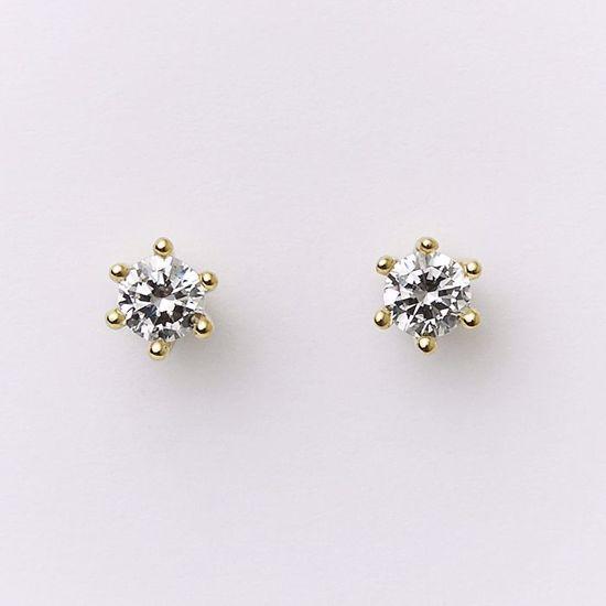 5532/08-guld-prinsesse-zirkonia-ørestikker-øreringe
