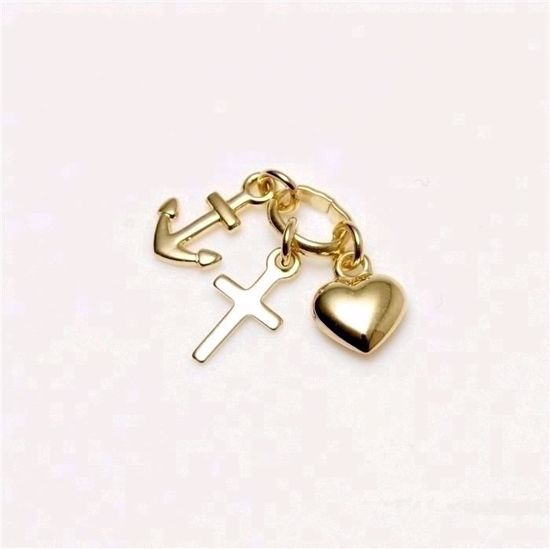 7311/08-guld-tro-håb-kærlighed-vedhæng