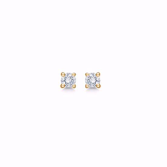 005006-guld-prinsesse-brillant-diamant-ørestikker