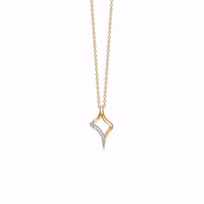 8310/7/08-guld-vedhæng-zirkonia-halskæde