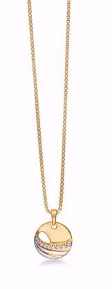 8273/7/08-guld-vedhæng-zirkonia-halskæde