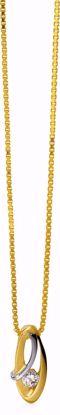 8244/7/08-guld-vedhæng-zirkonia-halskæde