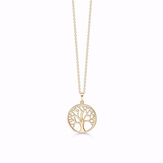 7414/08-guld-vedhæng-livets-træ-tree-of-life-halskæde