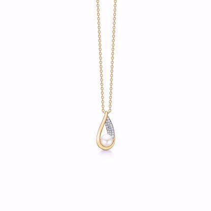 8322/7/08-guld-perle-zirkonia-vedhæng-halskæde