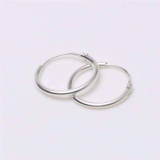 284015-sølv-hoops-loops-creoler-øreringe-forgyldt