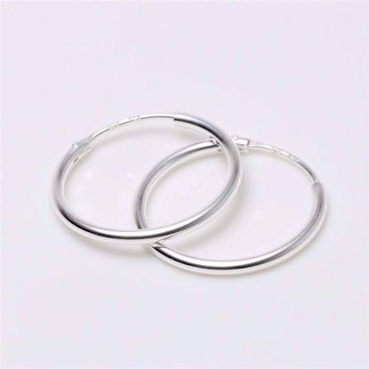 284115-sølv-forgyldt-creol-hoops-loops-øreringe