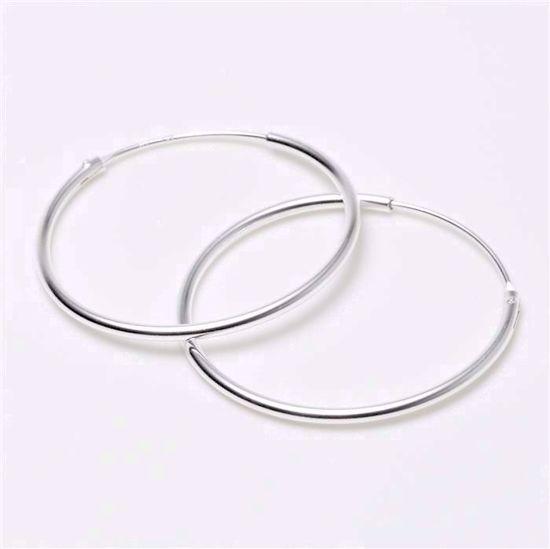 284315-sølv-forgyldt-creoler-hoops-loops-øreringe