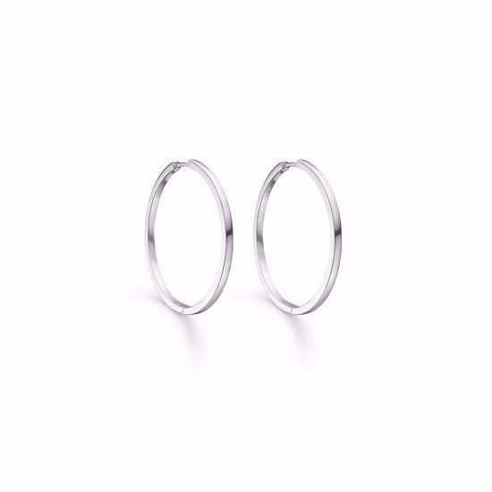 11251-sølv-hoops-loops-creoler-øreringe