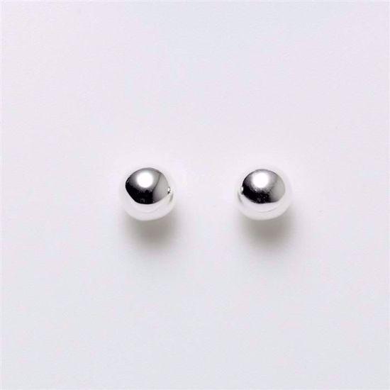 1627/5-sølv-5mm-kugle-ørestik-øreringe