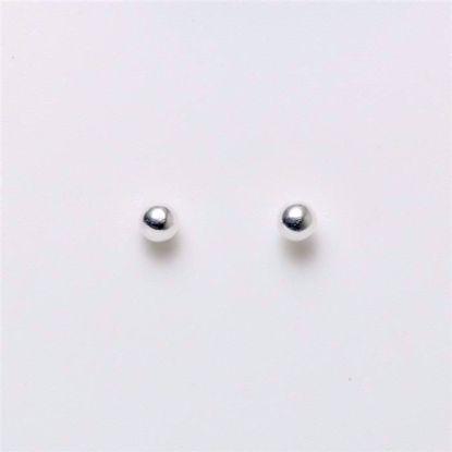1627/3-sølv-3mm-kugle-ørestikker-øreringe