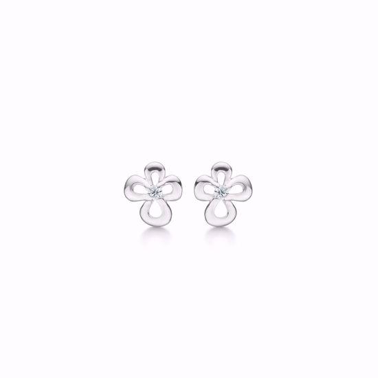 11257-sølv-blomst-øreringe-ørestikker-zirkonia