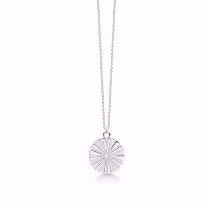 1903/3-sølv-vedhæng-halskæde-med-kæde-blomst-sol