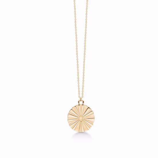 1903/3/F-sølv-forgyldt-vedhæng-halskæde-med-kæde-blomst-sol