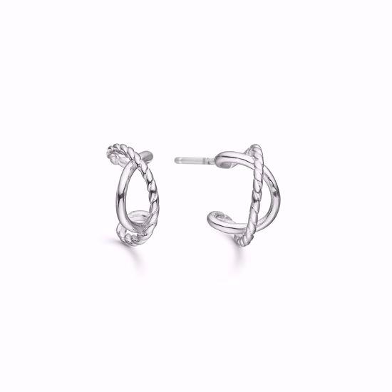 1835/1-sølv-halv-creol-øreringe-ørestikker