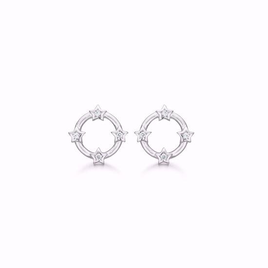 1893/1-sølv-ørestikker-øreringe-cirkel-med-stjerner-zirkonia