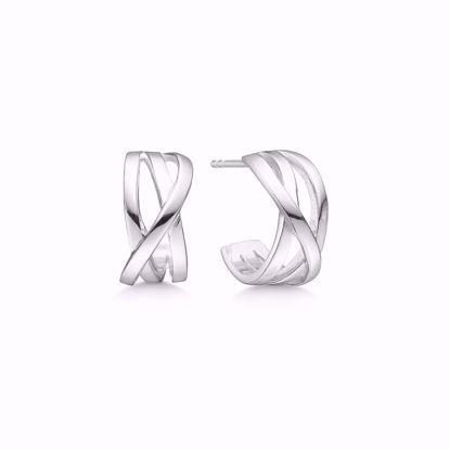 11272-sølv-øreringe-halv-creol-uden-sten