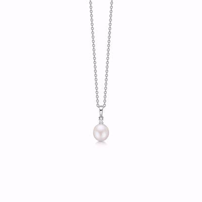 1869/3-sølv-vedhæng-halskæde-med-ferskvands-perle-og-zirkonia