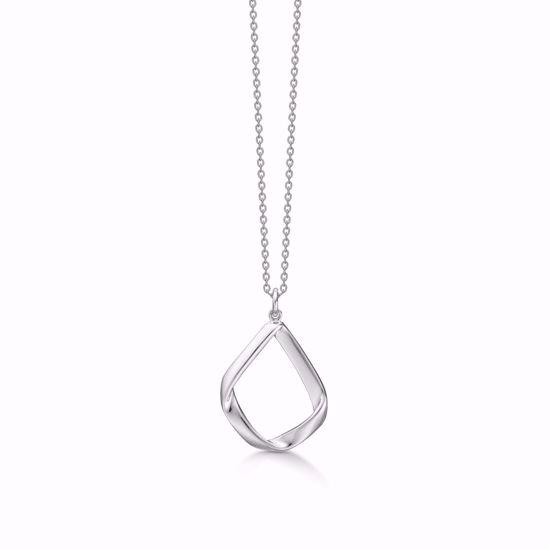 1885/3-sølv-vedhæng-halskæde-uden-sten