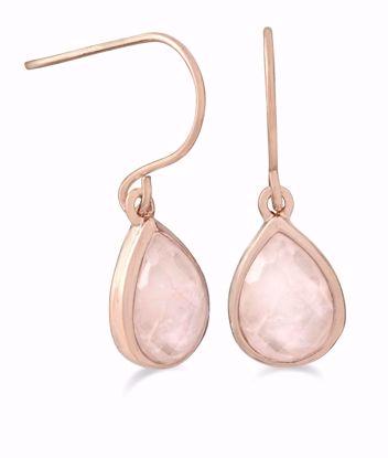 1859/1-rosa-guld-ørehængere-med-rosa-quartz