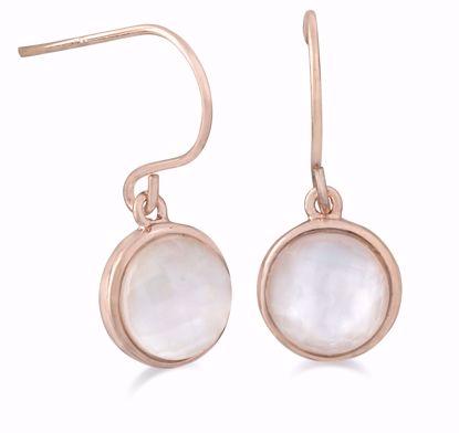 1860/1-sølv-rosa-forgyldt-ørestikker-øreringe-ørehængere-med-perlemor