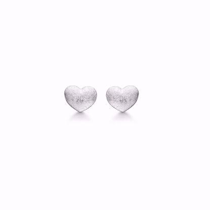 1872/1-sølv-hjerte-ørerstikker-ørering-mat