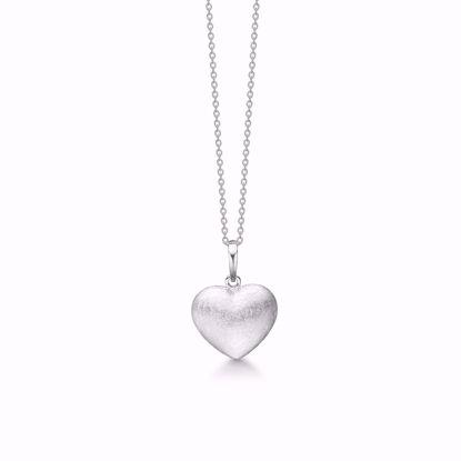 1872/3-sølv-vedhæng-halskæde-lang-kæde-mat-hjerte