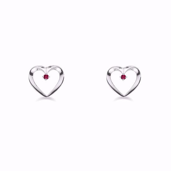11228-sølv-rubin-hjerte-ørestikker-øreringe