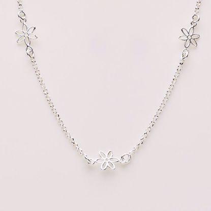 8887-sølv-ankelkæde-med-blomster
