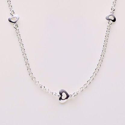 8888-sølv-ankelkæde-med-hjerter