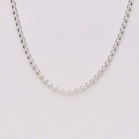 8854-sølv-ankelkæde